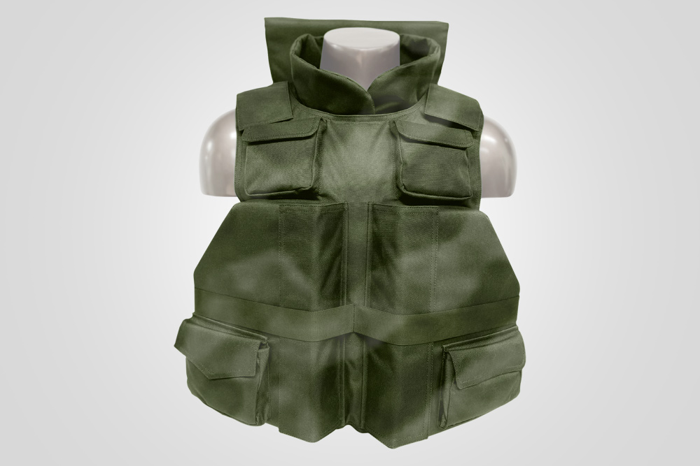 "Tactical *Positive Flotation Devices: 2 in the front 12"" x 9.5"" x 2.25"" 1 at the nape 7"" x 12"" x 1.5"", 1 in the back 15"" x 13"" x 2.25"""