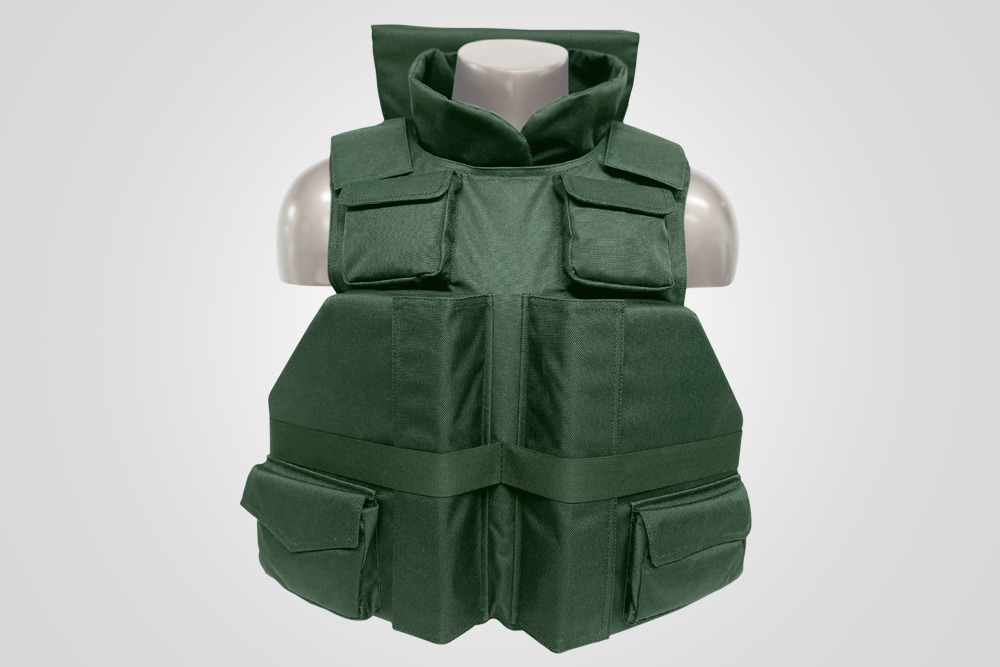 "Tactical * Positive Flotation Devices: 2 in the front 12"" x 9.5"" x 2.25"" 1 at the nape 7"" x 12"" x 1.5"", 1 in the back 15"" x 13"" x 2.25"""