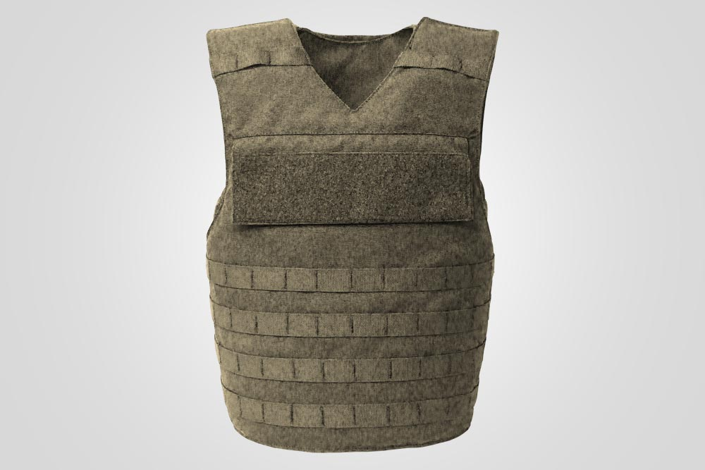 Standard, XS - 3 XL Fit concealable panel sizes