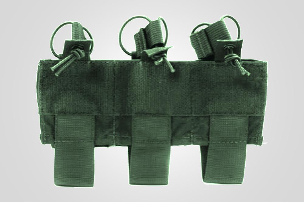 UAS Triple M4 Kangaroo Pouch-Ranger Green